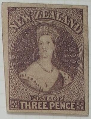 Stamp: New Zealand Three Pence