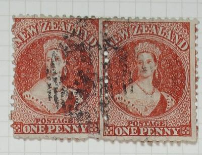 Stamps: New Zealand One Penny