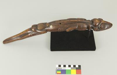 Carving: Lizard