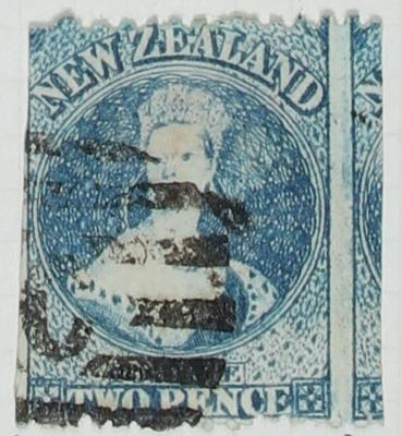 Stamp: New Zealand Two Pence