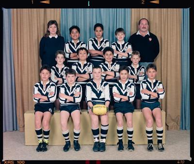 Negative: Addington 11yo Rugby League 1990