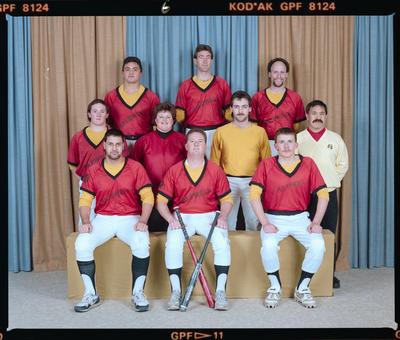 Negative: Halswell Senior A Men's Softball Team 1990