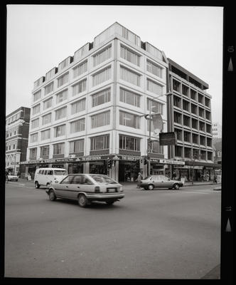 Negative: Multi-Storey Corner Building