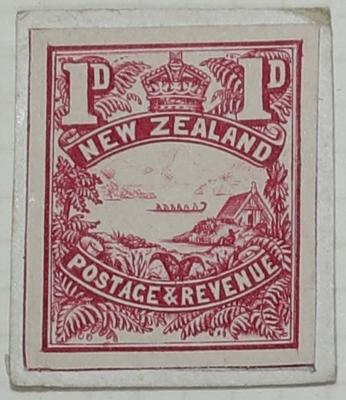 Stamp Essay: New Zealand One Penny