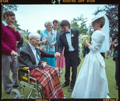 Negative: Brown-Watts Wedding