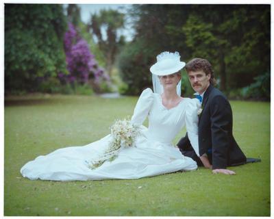 Negative: Brown-Watts Wedding