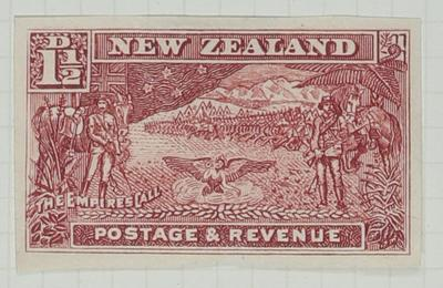 Proof: New Zealand One and a Half Pence