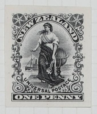 Proof: New Zealand One Penny
