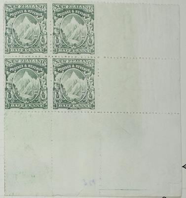 Stamps: New Zealand Half Penny