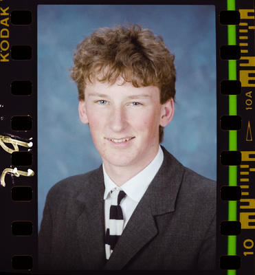 Negative: Christ's College 4th Year Student 1989