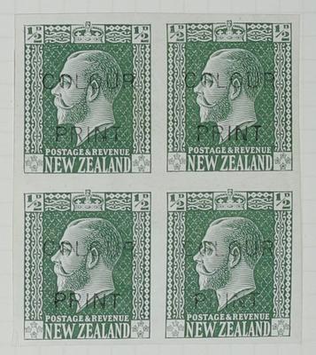 Proof: New Zealand Half Penny
