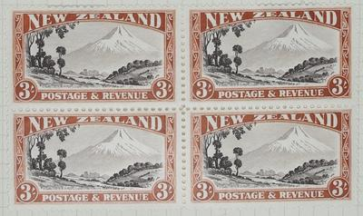 Stamps: New Zealand Three Shillings