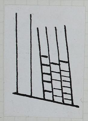 Sketch: Detail Sketch of Postage Stamp