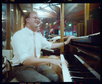 Negative: Pianist At Pagoda Court