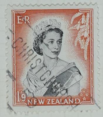 Stamp: New Zealand Nine Pence