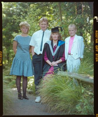 Negative: Ms Morgan Graduate And Family