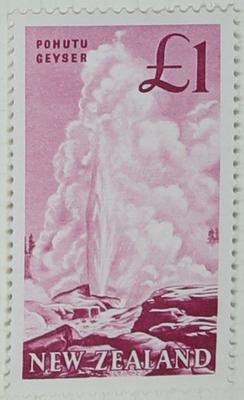 Stamp: New Zealand One Pound