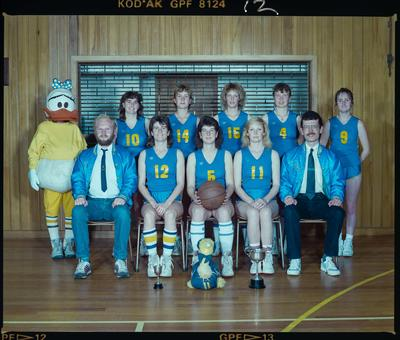 Negative: Christchurch Deaf Club Women's Basketball Team 1989