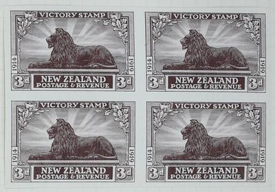 Proof: New Zealand Three Pence