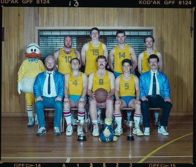 Negative: Christchurch Deaf Club Men's Basketball Team 1989