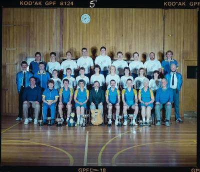Negative: Christchurch Deaf Club Sports Teams 1989