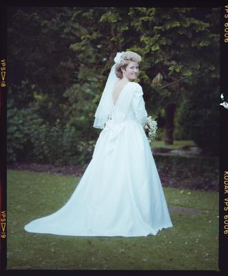 Negative: Dyer-Millner Wedding