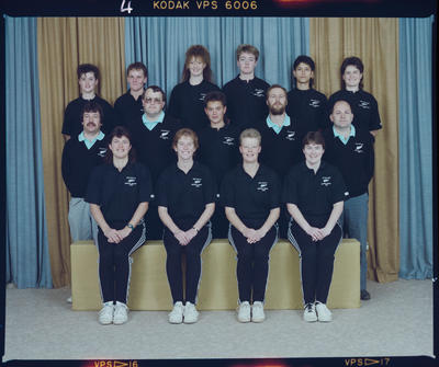 Negative: New Zealand Women's Indoor Cricket Team 1989