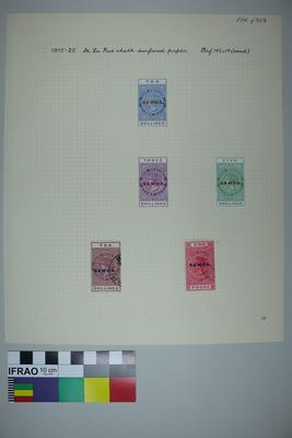 Page: Heaton Rhodes - Samoa Stamp Album