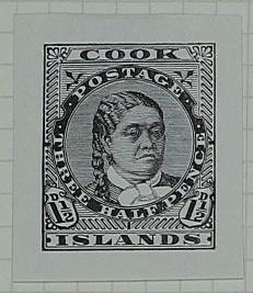 Proof: Cook Islands One and a Half Pence