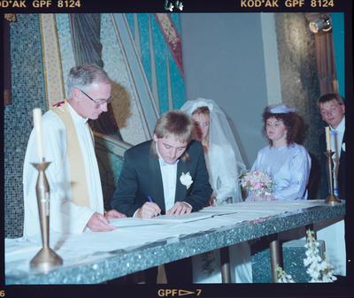 Negative: Wilkinson-Soper Wedding