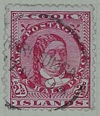 Stamp: Cook Islands Two and a Half Pence
