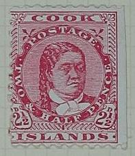 Proof: Cook Islands Two and a Half Pence