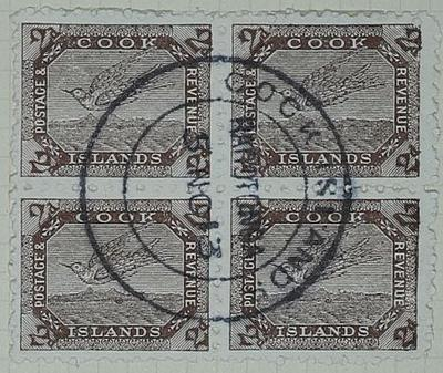 Stamps: Cook Islands Two Pence