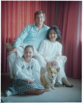 Negative: Falkingham Family Portrait