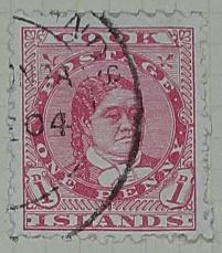 Stamp: Cook Islands One Penny