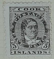 Stamp: Cook Islands Five Pence