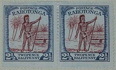 Stamps: Rarotonga Two and a Half Pence