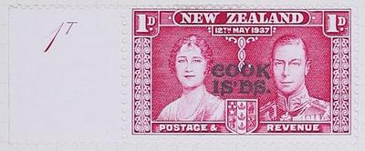 Stamp: New Zealand - Cook Islands One Penny