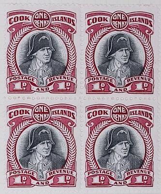 Stamps: Cook Islands One Penny