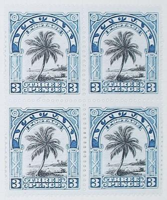 Stamps: Aitutaki Three Pence