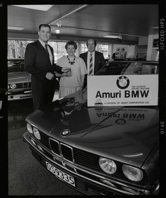 Negative: Three People Amuri BMW