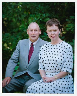 Negative: Mr And Mrs Fawke Portrait