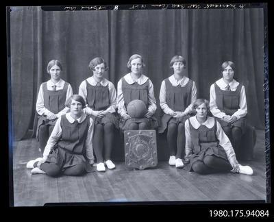 Negative: St Margaret's Net Ball Team