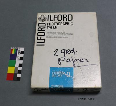 Box: Ilford Photographic Paper
