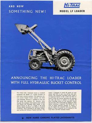 Booklet: Hi-Trac Model L F Loader