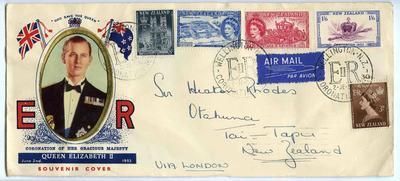 Souvenir Cover: Coronation of Queen Elizabeth II