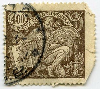 Stamp: Posta Ceskoslovenska 400