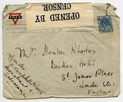 Envelope: Nederland 12 1/2 C Stamp Attached