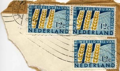 Stamps: Netherlands 12 cent