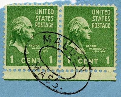 Stamps: United States One Cent